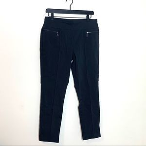 Style & Co Dark Grey Zipper Pocket Pants